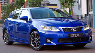 Lexus CT 200h Australian sales start