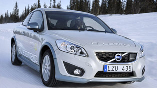 2011 Volvo C30 EV - test drive [video]