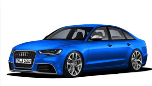 2012 Audi RS6 [video rendering]