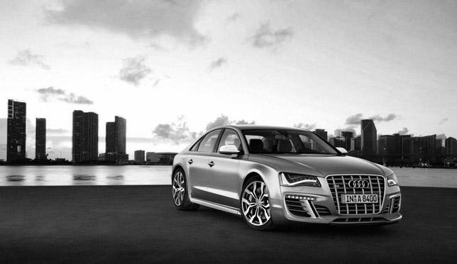 Audi S8 rendering