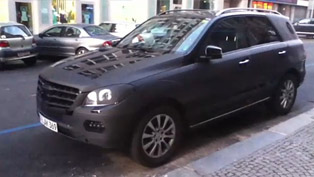 2012 Mercedes-Benz ML [spy video]