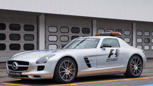 2012 Mercedes-Benz C 63 AMG and SLS AMG Safety Cars