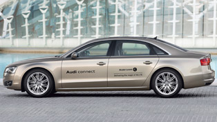 Audi A8 L with LTE technology