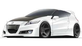 Honda CR-Z MUGEN prototype sketch