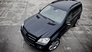 kicherer mercedes gl42 sport black