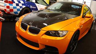 Manhart BMW M3 V8R Biturbo [video]