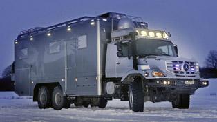 Mercedes-Benz Zetros 6X6 truck