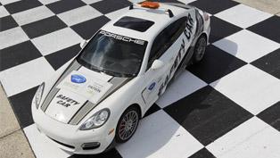 Porsche Panamera Turbo Safety Car