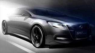 Renault Samsung SM7 Concept [sketch]