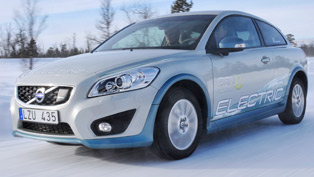 Volvo C30 Electric tested in brutal winter conditions