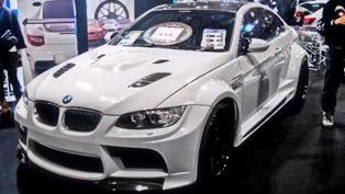 Vorsteiner GTRS3 BMW M3 at Tokyo Saloon 2011