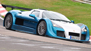 Gumpert Apollo [video]