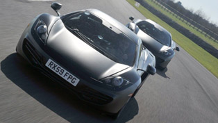 mclaren mp4-12c at goodwood [video]