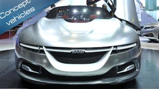 Geneva 2011: Saab PhoeniX Concept [video]