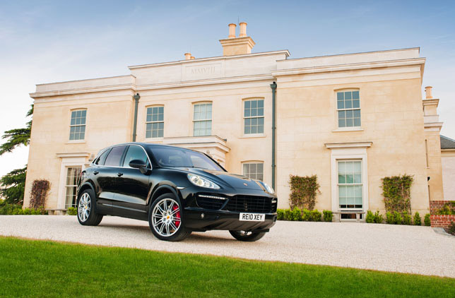 2011 Porsche Cayenne II Turbo Powerkit