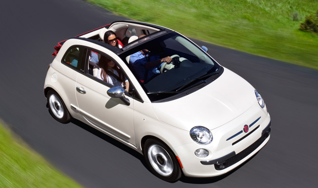 2012 fiat 500 cabrio us premiere. Black Bedroom Furniture Sets. Home Design Ideas