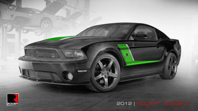 2012 ROUSH Stage 3 Mustang is priced at $59 945. However, you can