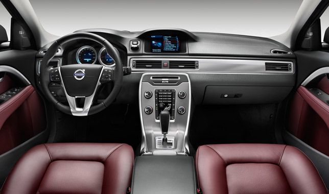 2012 Volvo S80, V70 and XC70