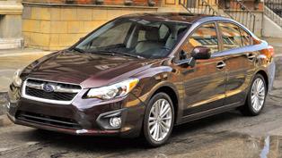 2012 Subaru Impreza officially introduced