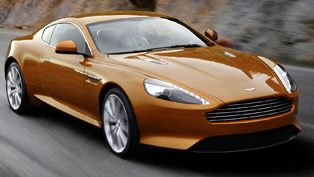 Aston Martin Virage UK premiere