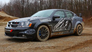 Dodge Avenger Rally Car [video]