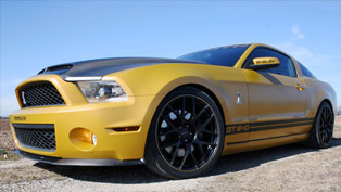 GeigerCars Ford Mustang Shelby GT640 Golden Snake