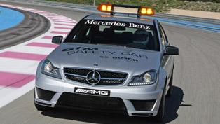 mercedes c 63 amg safety car - 2011 dtm season