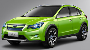 Subaru XV Concept officially revealed