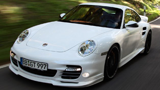 TECHART Porsche 911 Turbo power upgrade