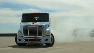 Size Matters - Semi Truck Gymkhana [video]