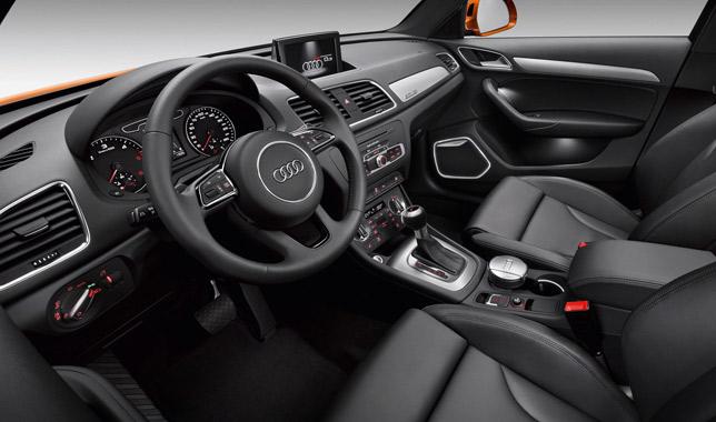 2012 Audi Q3 interior