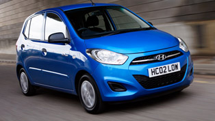 Hyundai i10 Blue - Most Genuinely Economical Petrol Engined Car