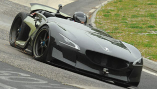Peugeot EX1 - Nurburgring Nordschleife Record Time