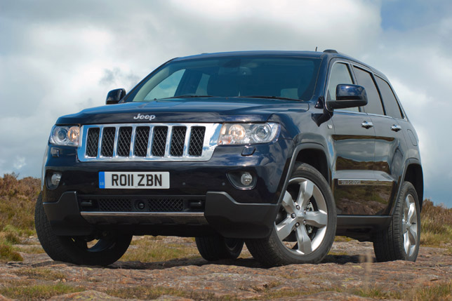 2011 Jeep Grand Cherokee UK front