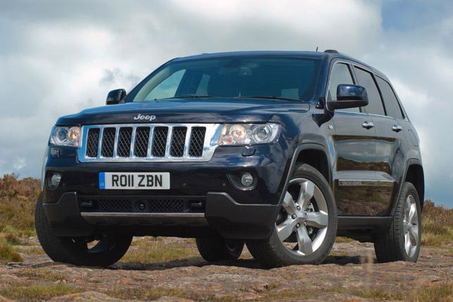 2011 Jeep Grand Cherokee UK front