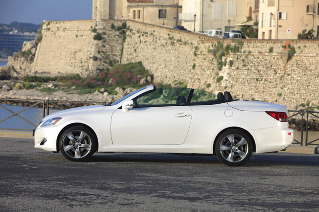 2011 Lexus IS 250C Limited Edition Side