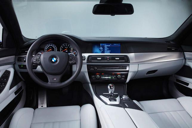 2012 BMW M5 F10 Interior