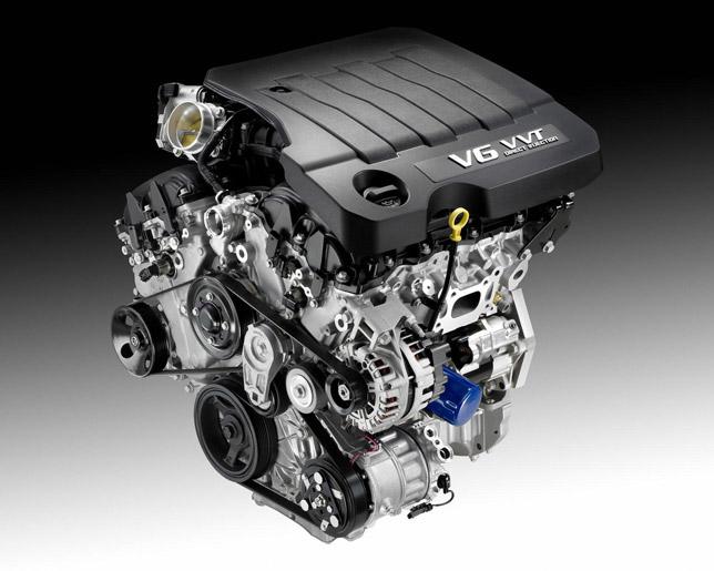 3.6 liter V6