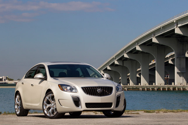 2012 Buick Regal GS Front