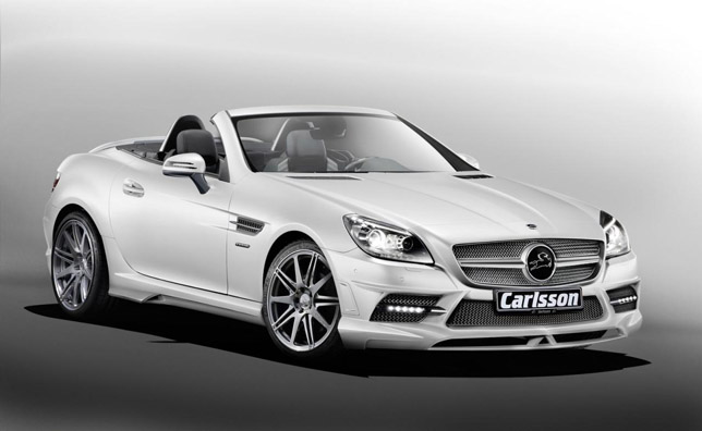 2012 Carlsson Mercedes-Benz SLK front