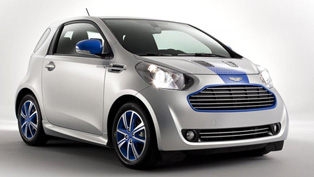 aston martin cygnet colette special edition