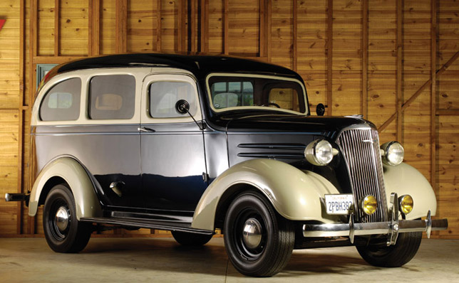 The father of all SUVs  Chevrolet Suburban 1937