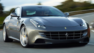 Ferrari FF at the 2011 Goodwood Festival of Speed