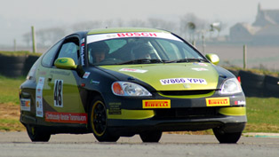 Oaktec Honda Insight Hybrid Rally Car
