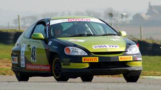 Oaktec Honda Insight Hybrid Rally Car