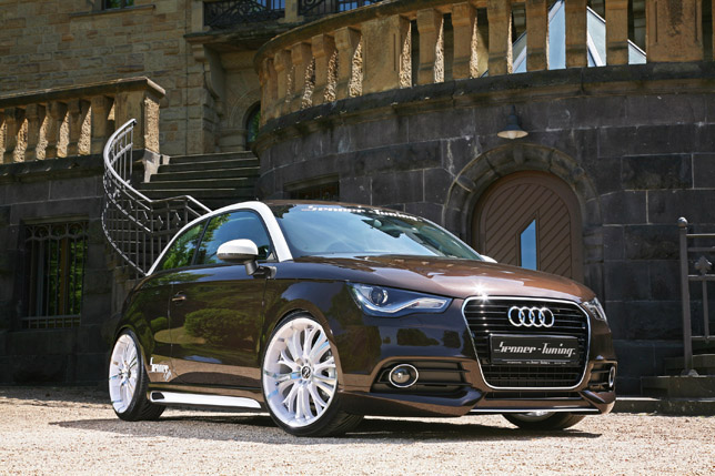 Senner Tuning Audi A1 front
