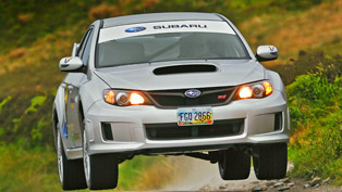 Subaru Impreza WRX STI with a lap record at Isle of Man