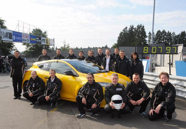 renault megane renaultsport 265 trophy team