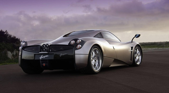 2011 Pagani Huayra Backside