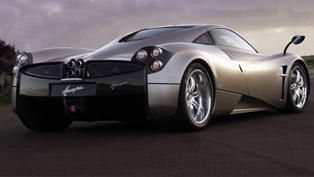 Pagani Huayra on the road [video]